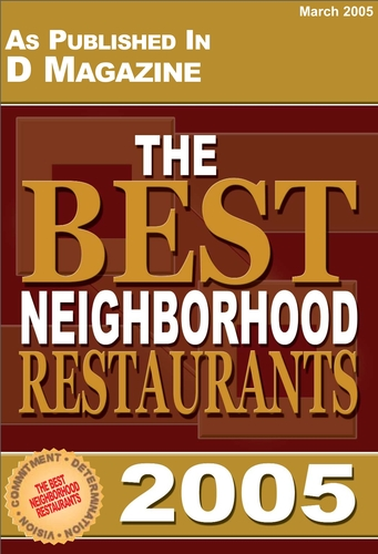 D Magazine: The Best Neighborhood Restaurants 2005