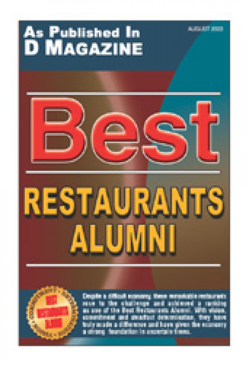 D Magazine: Best Restaurants Alumni