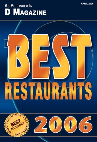 D Magazine: Best Restaurants 2006