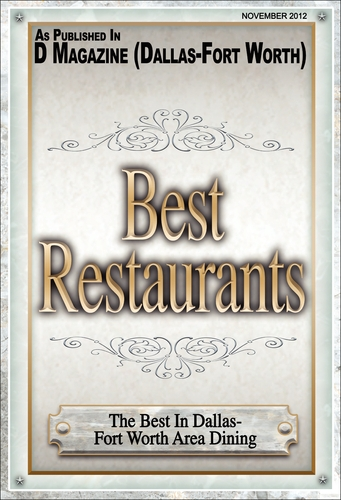 D Magazine: Best Restaurants
